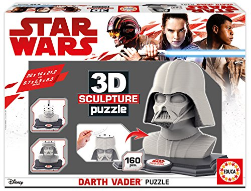 Educa Borrás Star Wars Darth Vader Puzzle 3D 16500