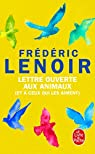 Lettre ouverte aux animaux par Lenoir