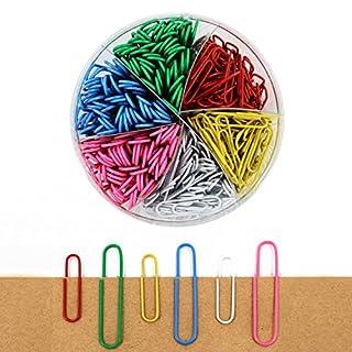 Multicolor-Büroklammer für Arbeiten und Wohnen, 50mm und 33mm, 390Stück