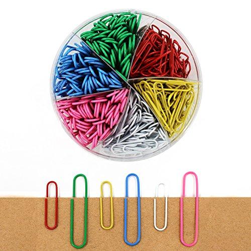 Multicolor Graffette per lavoro e di vita, 50mm e 33mm, confezione da (Grande Binder)