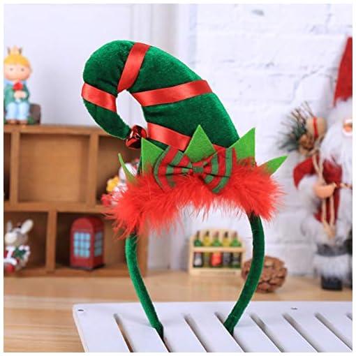 BESTOYARD-Elf-Hut-Stirnband-Weihnachten-Hut-Haarband-fr-Weihnachten-Kostm-Kostme-Zubehr