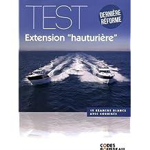 Code Rousseau test extension hauturière 2017