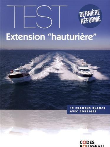 Code Rousseau test extension hauturière 2017 PDF