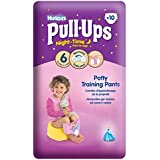 Huggies Pull Ups Night Time Potty Training Pants for Girls Size 6 Large 16-23kg (10) by Groceries