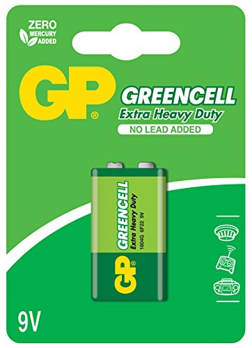 GP Batteries 5567 9 volt Vert