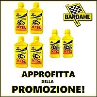 Bardahl – XTC C60 – 4 + 1 litres d'huile moteur 10W50 pas cher