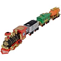 Ascend Store® Battery Operated Choo Choo Train with Real Smoke and Light and Sound Effect