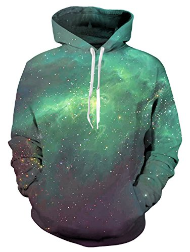 NEWISTAR Colourful HD 3D Printed Pullover Unisex Lange Ärmel Funny Christmas Patterned Sweatshirts for Teens Jumpers