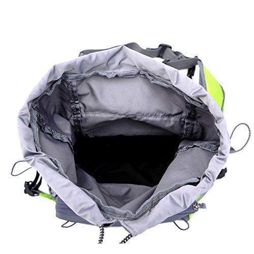 Diamond Candy Marsupio Sportivo a Tracolla o Spalla da Uomo e Donna impermeabile Borsa in Nylon regolabile in vita con accessori sacchetto Waist bag Nero Nero