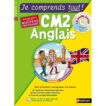 Anglais CM2 - cours + exercices + audio - Je comprends tout - conforme au programme de CM2