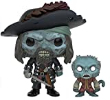 Pirates Of The Caribbean Cursed Barbossa Vinyl Figure 208 Figurine de collection Standard