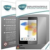2 x Slabo Bildschirmschutzfolie Odys Connect 8+ Bildschirmschutz Schutzfolie Folie