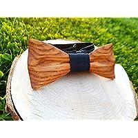 Handgemachte hölzerne Fliege, Holzfliege, Fliege aus Holz, Holzfliege