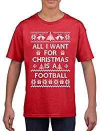All I want for Christmas is a Football T Shirt