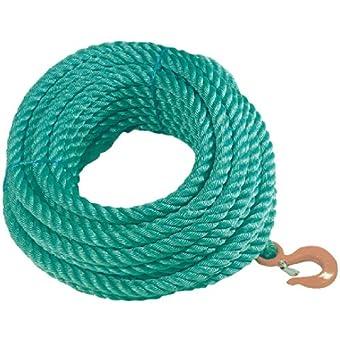 Corde à poulie en polypropylène - 15 M - ø24 mm - OUTIBAT