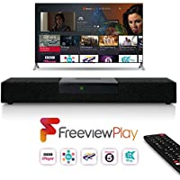 Netgem SoundBox Freeview Play - Ultimate Home Entertainment System: HD TV streaming + Crystal Clear Sound Technology + Built-in Subwoofers + 1 Year of Prime Included (Even for Existing Customers)