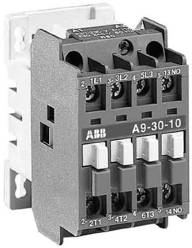 Preisvergleich Produktbild ABB Stotz S&J Schütz A9-30-10 230V50/60HZ 1S 220-230VAC/DC Leistungsschütz zum Schalten von Wechselstrom 3471522031808