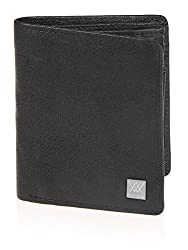 Aditi Wasan Genuine Leather Black Wallet