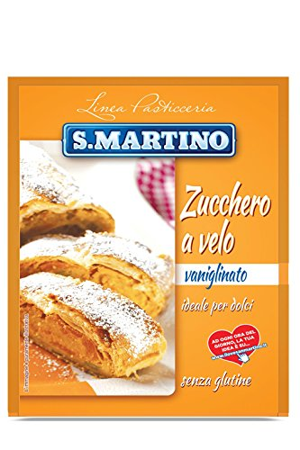 S.Martino - Zucchero a Velo Vanigliato Senza Glutine - Busta