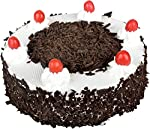 Sattva Flower Boutique Contains A Black Forest Cake Weighs 1/2 Kg