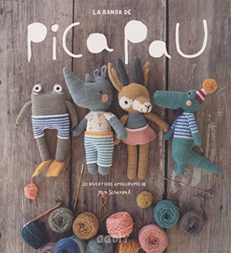 La banda de Pica Pau : 20 divertidos amigurumis por Yan Schenkel