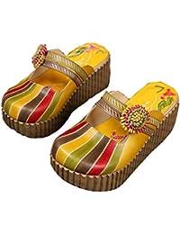 Pantofole Giallo Amazon Da DonnaE itCiabatte Scarpe wvmnN80