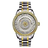 Hermosos Relojes tevise / 12 Zodiac 9055g Diamond Hombres Reloj mecanico automatico Reloj Calendario