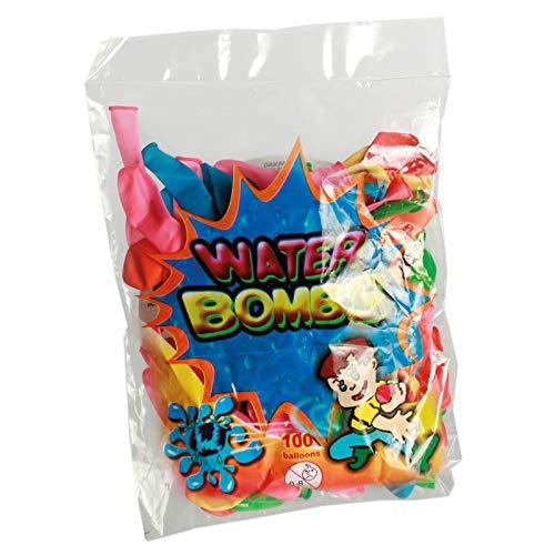 Preis am Stiel 1x 100er Pack Wasserbomben   Luftballons   Kindergeburtstag   Garten Party   Mitgebsel   Wasserspielzeug   Outdoor   Spielspaß für Kinder   Sommerspiel   Geschenk für Kinder