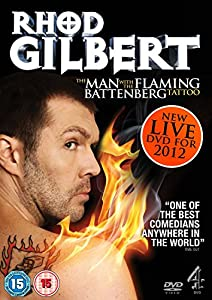 Rhod Gilbert Live 3: The Man With The Fl: Rhod Gilbert Live 3: The Man With The Fl [Edizione: Regno Unito] [Import italien]