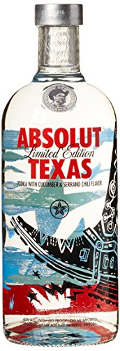 Texas-flasche (Absolut Vodka Texas Limited Edition (1 x 0.7 l))