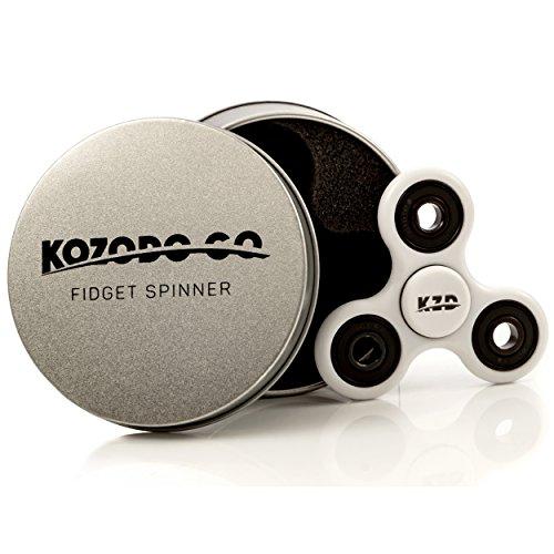 Fidget Spinner X10 - Premium Finish - Si3N4 Hybrid Ceramic High Speed Bearings