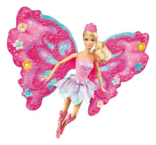 Mattel W4469 Barbie Flower 'N Flutter Fairy Barbie Doll