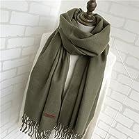 """XBR l'écharpe de couleur blanchâtre pur blanchâtre, foulard, super chaud et des amants """"châle"""