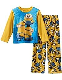 Minions Niños Forro polar Juego de pijama tamaños 4–10