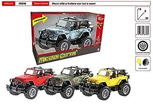 Toys Garden Srl Jeep Militar Embrague L/s CM.3026646,, 851036