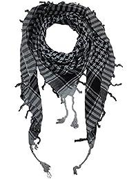 Superfreak® Palituch einfach gewebt ° zweifarbig klassisch°PLO Schal°100x100 cm°Pali Palästinenser Arafat Tuch°100% Baumwolle – alle Farben!!!