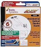 Kidde Slick 2SFW Optical Smoke Alarm Detector 230v Hard Wired Battery Back up - EU/UK