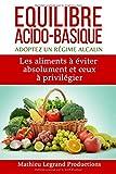 Equilibre acido basique - Adoptez un régime alcalin: Les aliments à éviter absolument et ceux à privilégier...