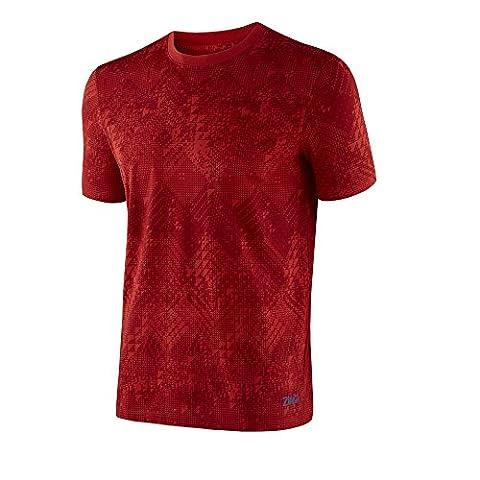 Zumba Men's Tri-Me T-Shirt Graphic rouge So Samba Pink petit