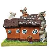 Spardose Haus Ein paar Mäuse für´s neue Heim Sparschwein Sparbüchse