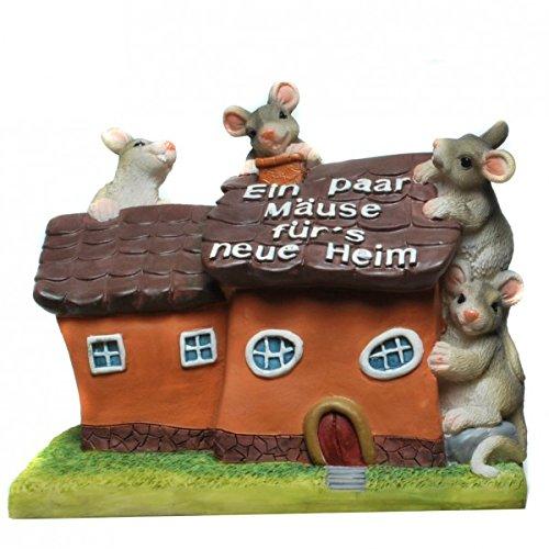 Hucha con forma de casa un par de ratones de ir a la hucha de nuevo a casa huchas