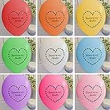 25Rainbow Mix Forever in Our Hearts Beerdigung Erinnerung Beileids Luftballons–von Angel & Taube