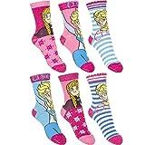 Die besten Disney Mädchen Socken - 6er Pack Mädchen Socken Hello Kitty Violetta Frozen Bewertungen