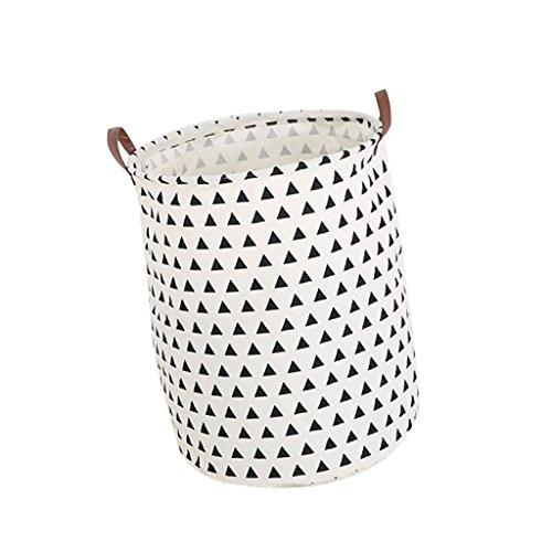 *Gazechimp Rund Design Multifunktionstasche Aufbewahrungskorb Wäschesack Eimer für Kinder Spielzeug Kleidung – 04*