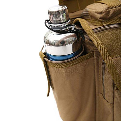 F@Tela impermeabile all'aperto, multi-funzionale tactical Messenger borsa singola fotocamera borse a tracolla, borse, tuta mimetica, Digital Camo , C F