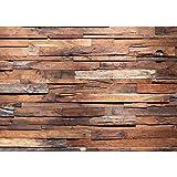 Fototapete 400x280 cm - ALLE TOPSELLER auf einen Blick ! Vlies PREMIUM PLUS - WOODEN HOUSE - Holzwand Wand Mauer - no. 174