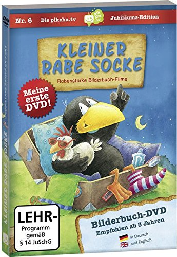 Kleiner Rabe Socke - Bilderbuch-DVD