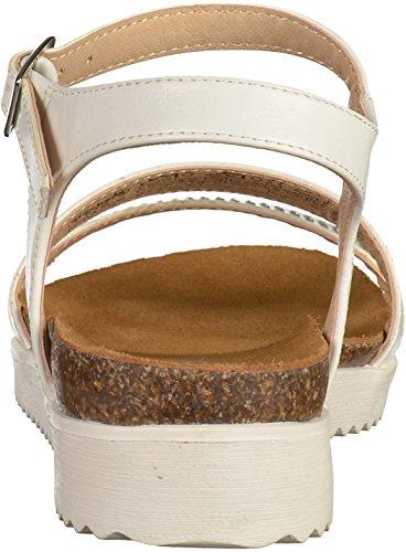Dockers 38CD201 Damen Sandalen Weiß