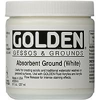 Golden Acrylic Medium: 236ml. Fondo Absorbente Blanco