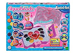Unbekannt aquabeads 30249-Corazón Cajas de Juego,-Set para Manualidades
